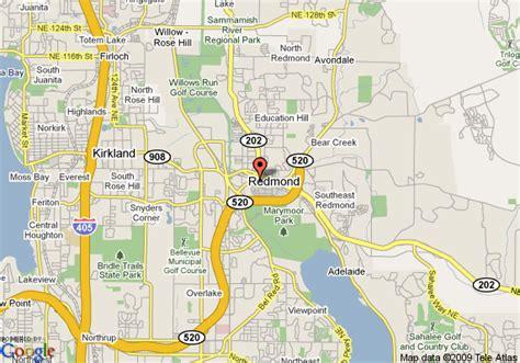 maps redmond map of residence inn redmond redmond