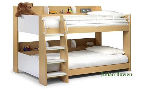 wooden bunk beds with futon bedstore uk julian bowen domino wooden kids bunk bed