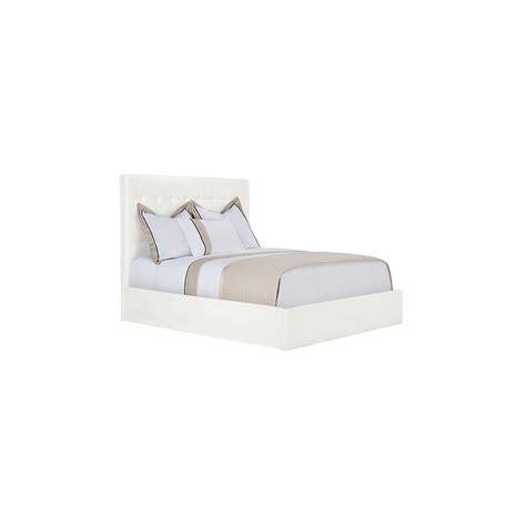 white leather platform bed city furniture lynx white bonded leather platform bed