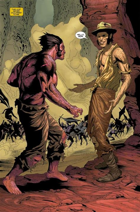 wolverine goes to hell wolverine 5