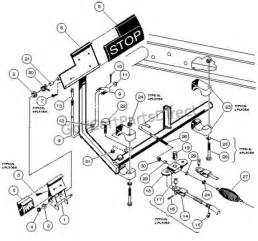 Club Car Brake System 1997 Carryall 1 2 6 By Club Car Club Car Parts