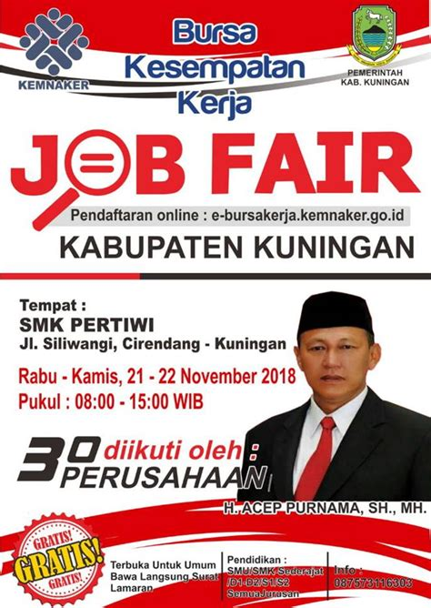 kuningan job fair smk pertiwi   november  haieventcom