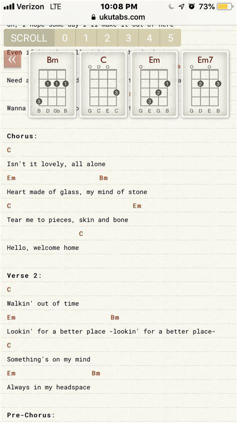 billie eilish guitar chords lovely billie eilish khalid ukulele chords