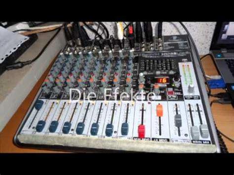 Mixer Xenyx X1222usb test und check zum behringer xenyx x1222usb
