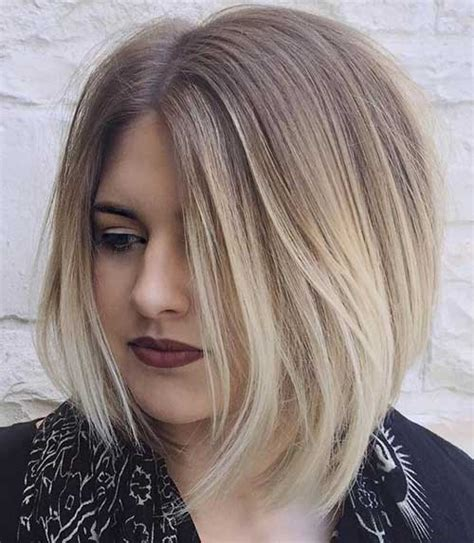 blond ombre bob really swanky long bob hairstyles you need to see short
