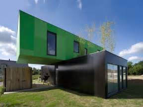 Moderne Barn Restaurant Shipping Container Homes Crossbox By Cg Architects Pont