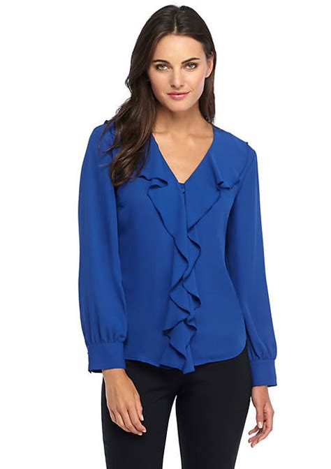 Jumbo Blouse Limited ruffle neck blouse the limited