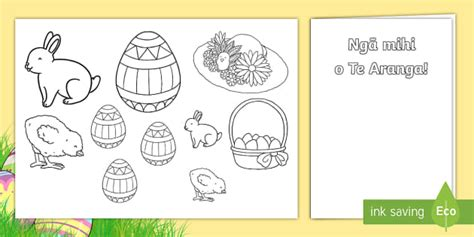 easter card templates twinkl easter gift card template te reo māori new zealand easter
