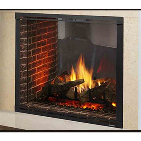 majestic direct vent fireplace majestic marquis ii 42 quot top direct vent see through