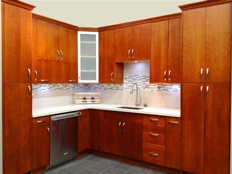 flat kitchen cabinets natural cherry flat panel kitchen cabinets