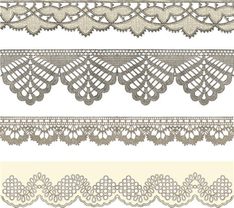 lace pattern svg vintage lace ribbons vector free vector in adobe