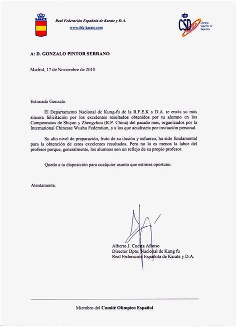 carta felicitacion modelo carta felicitaci 243 n 171 escribimosasi