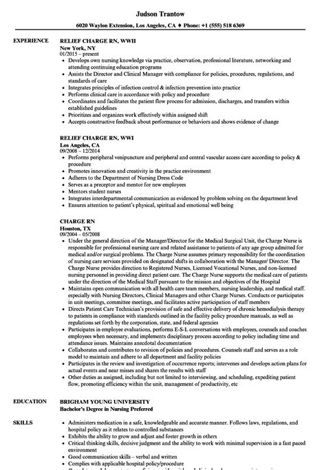 nurse resume examples samples free edit with word