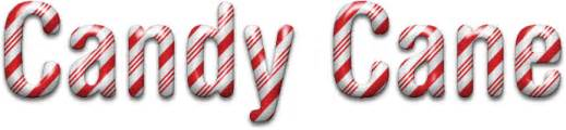 holiday text fx part 1 candy cane text from