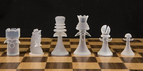 designer chess sets 3d printed chess set 3dprint com the voice of 3d