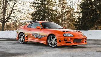 Toyota Supra Pictures Original Fast And Furious Toyota Supra Sells For 185 000