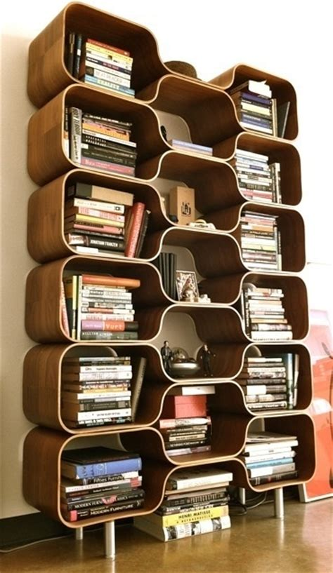 Stylish Bookshelf by 25 Original Mid Century Modern Bookcases You Ll Like