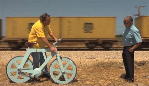 uitvinder luchtbed fiets van karton op zoek naar crowdfunding freshgadgets nl