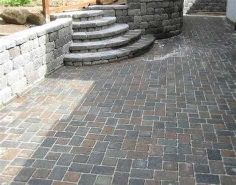 Cheapest Pavers For Patio Ideas Concrete Paving Installation Paver Installation Designs Patio Landscaping Cheap