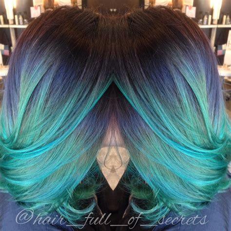 two colored hair magical multi colored hair hair studio