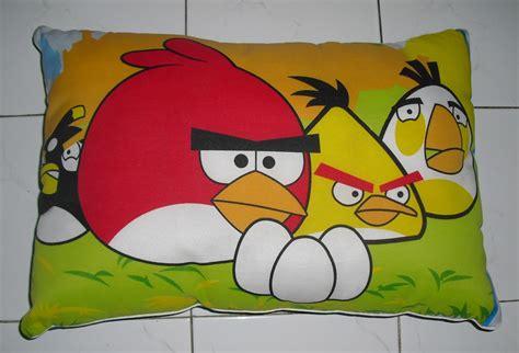 Sarung Bantal Cinta Angry Bird bantal silikon angry birds grosir kasur busa bandung