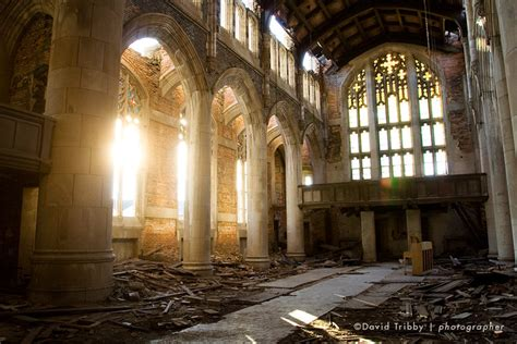 Unfortunate Church Pictures by Forgotten Cities Gary Indiana Archdaily