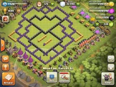 base design contest clash of clans clash of clans th9 base design walkthrough youtube