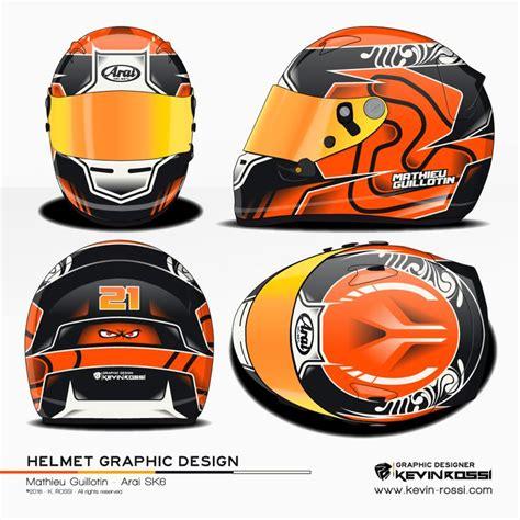 helmet design experiment mathieu guillotin helmet design project arai sk6 169 2016
