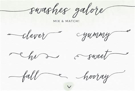 dafont quantify lovefern a modern calligraphy swashes font