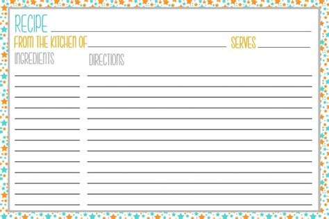 free printable picture recipes free printable recipe cards the krafty owl