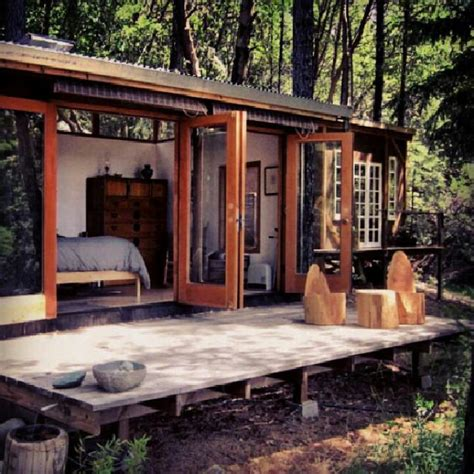 tiny house with deck tiny house tinyhouse cabin cottage tinyhouse