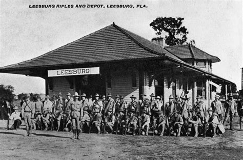 florida memory leesburg rifles and depot leesburg florida