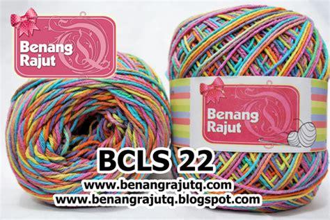 Benang Rajut Yarn Cotton Crochet Sembur Biru benang rajut katun sembur pelangi bcls 22 benangrajutq