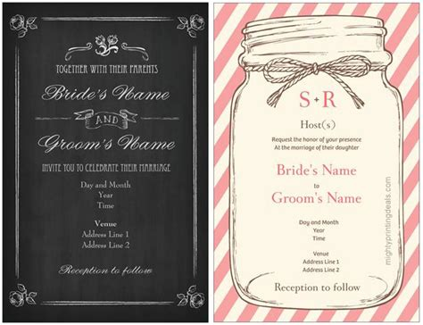 vistaprint wedding invitations coupon for a 25 discount