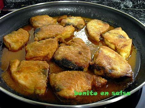las recetas de mi abuela bacalao con salsa las recetas de mi abuela bonito en salsa