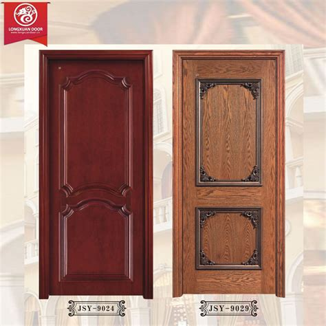 single swing door rough skin panel wooden doors 100 solid timber wood doors