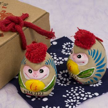 new year monkey decorations two clay monkey arts crafts new year new