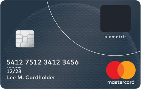 card and mastercard unveils next generation biometric card