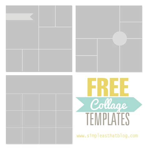 collage maker templates free photo collage template template business