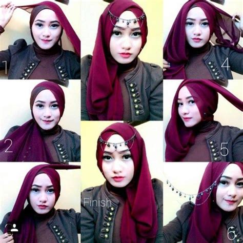 tutorial hijab segitiga formal best 25 tutorial hijab segitiga ideas on pinterest