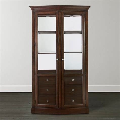 contemporary china cabinets cosmopolitan china cabinet by bassett furniture