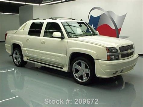 southern comfort avalanche for sale purchase used 2006 chevy avalanche southern comfort