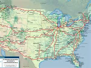 Amtrak Train Map by 30 Awesome Adventures On The Cheap