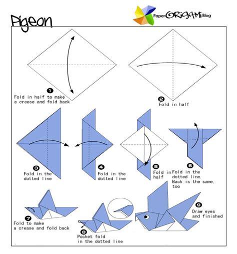 tutorial origami untuk anak tk bird origami tutorial 1 bullitan boards pinterest