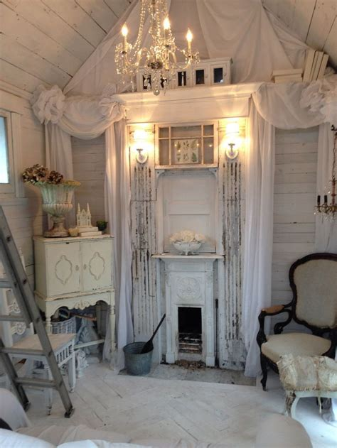 inside of a shabby chic shed pictures photos and images