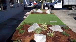 plantings ideas artificial synthetic grass installed pet