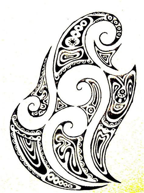 simple maori tattoo designs maori design by closetpirate on deviantart