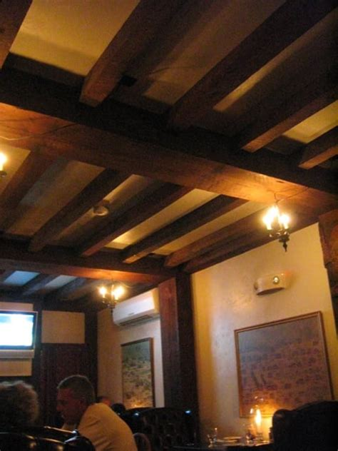 1640 hart house beautiful wood ceiling beams yelp