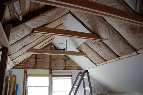 insulating cathedral ceiling closet remodels