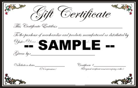 this certificate entitles you to template gift certificates baubles from the sea by brandie